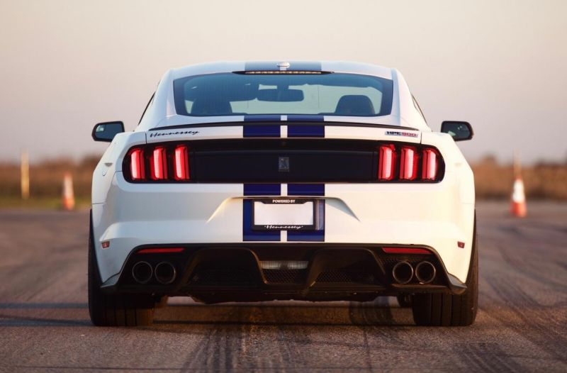 hennessey supercharges 2016 mustang shelby gt350 to a hellcat trolling 808 hp 6 Neue Stufe   Ford Mustang Shelby GT350 HPE800 by Hennessey