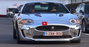 jaguqaar chrom folierung 1 310x165 Video: Jaguar XK R mit kompletter Chrom Folierung