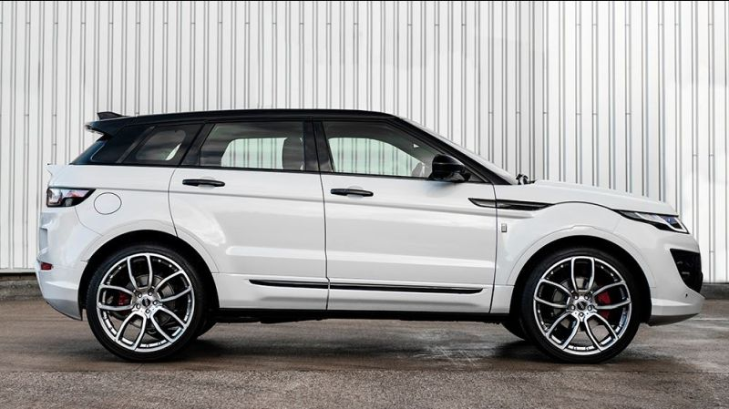 kahn white.evoque new tuning 1 Kahn Design Range Rover Evoque 2.0 TD4 SE Tech 5DR   RS Sport
