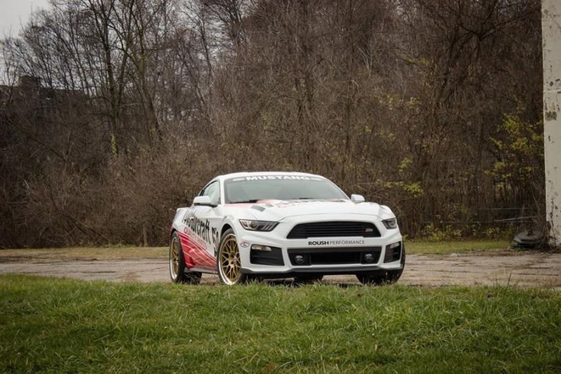 roush mustang motorcraft rs3 tuning car 2 Ford Mustang als Roush Motorcraft RS3 Mustang