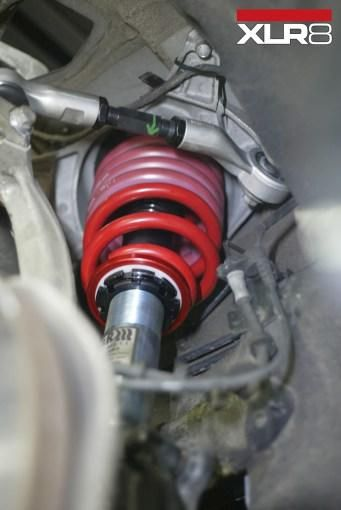 H&R Stree coilovers SPC adjustable control arms