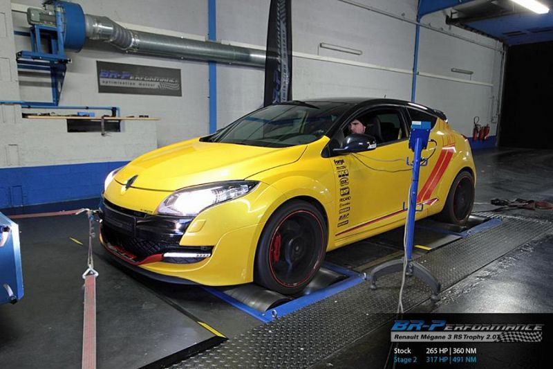 317ps 491nm In The Br Performance Renault Mégane 3 Rs