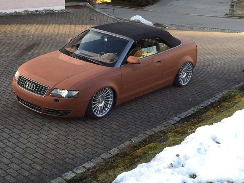 Audi A4 S4 Convertible Unique Tuning By Leather Art