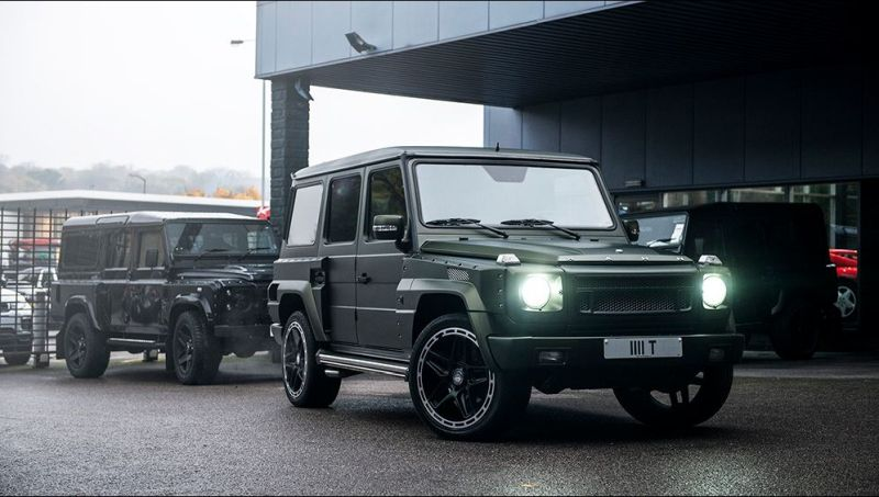 11872177 1126644657376347 62246965860037401 o Mercedes Benz G6 Wide Track by Kahn Design