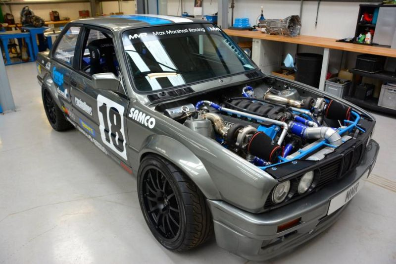 12002364 1219707628054711 1556799219504274979 o Fotostory: BMW E30 3er mit Biturbo M60 V8 Power