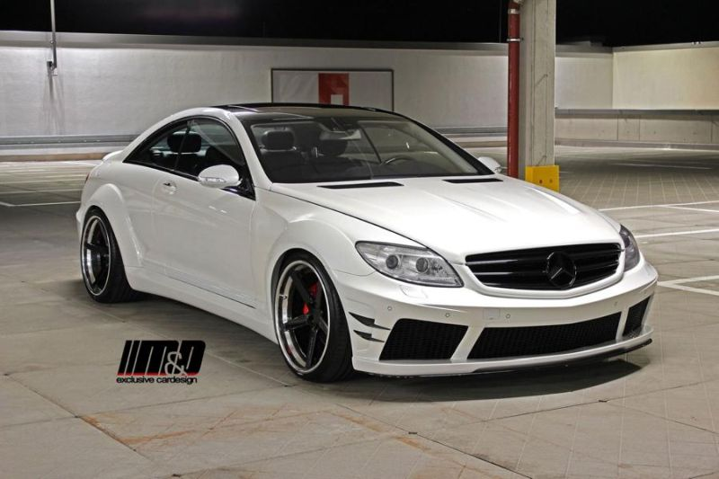12377731 1034146203273960 7682194436798611928 o M&D   Mercedes CL500 AMG Prior Design Black Edition V2 Widebody