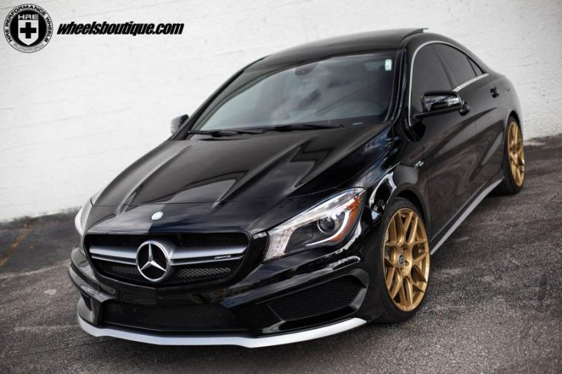12466117 10153769362951698 3782985697488370083 o HRE Performance Wheels FF01 am Mercedes CLA45 AMG