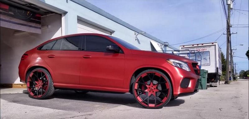 12466306 1026493857392723 6664995824054870832  Mercedes Benz GLE450 AMG Coupé 4MATIC auf 26 Zoll