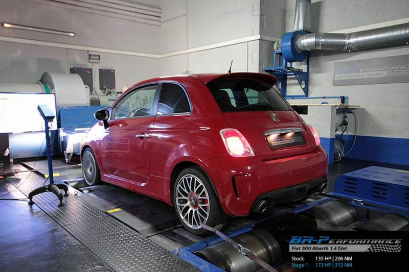 12471632 1077155785649177 6624193337625480925 o Fiat 500 1.4 T Jet Abarth mit 173PS by BR Performance