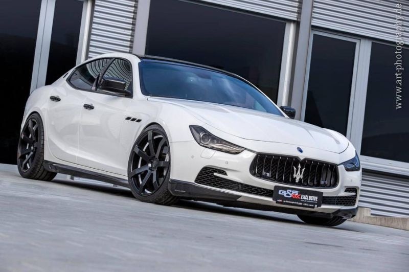 12471777 1672221673060293 2498720653099548605 o Eleganter Maserati Ghibli   Tuning by HS Motorsport