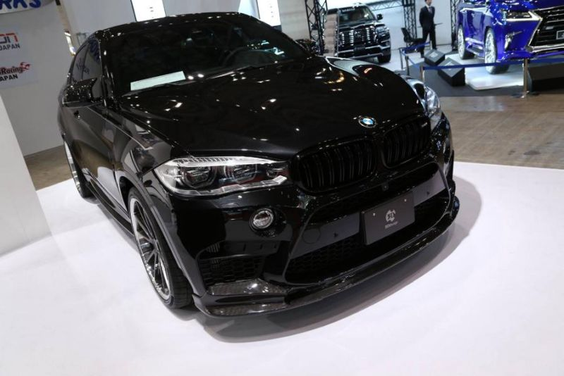 12496426 1330109813681592 3390566334418358775 o BMW X6M F86 mit 3D Design Carbon Bodykit