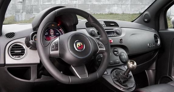 1422 abarth tuning car 2 Abarth Fiat 595 Competizione by TAG Heuer