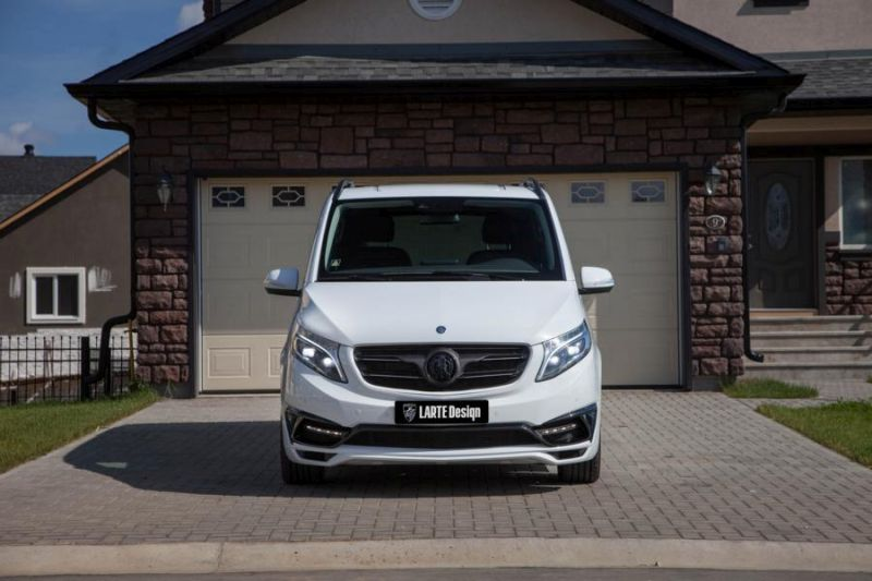 2016 Mercedes V Klasse Black Crystal Tuning Larte Design Weiß 1 Mercedes V Klasse Black Crystal by Larte Design