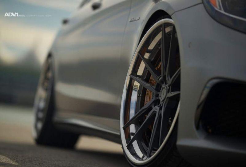 22 Zoll ADV5.2 Alufelgen Mercedes S63 AMG W222 3 22 Zoll ADV5.2 Alufelgen am Mercedes S63 AMG W222