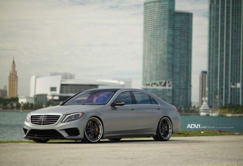 22 Zoll ADV5.2 Alufelgen Mercedes S63 AMG W222 6 22 Zoll ADV5.2 Alufelgen am Mercedes S63 AMG W222