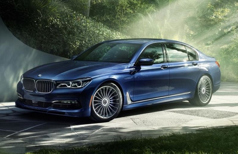 This Is The New Alpina B7 The Bmw G11 Based G12