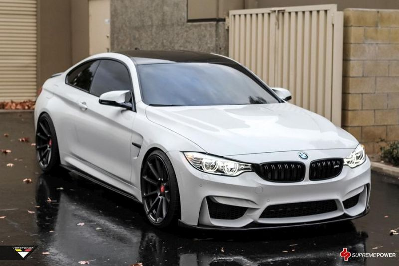 Alpine White BMW M4 By Supreme Power tuning car 10 Supreme Power    Tuning am BMW M4 F82 in Alpine Weiß