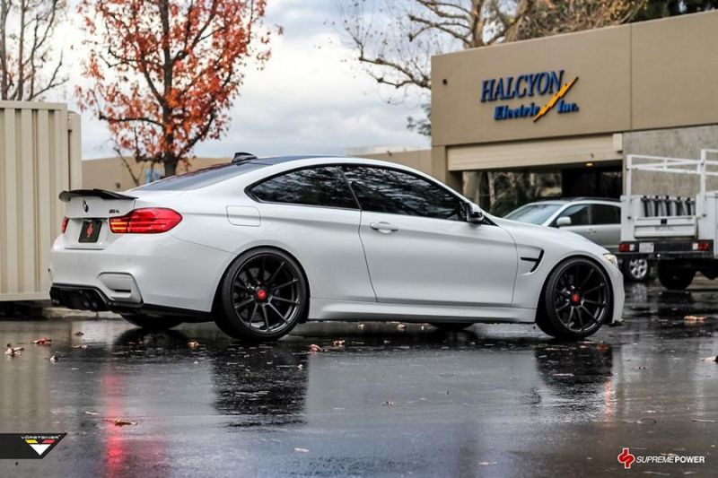 Alpine White BMW M4 By Supreme Power tuning car 4 Supreme Power    Tuning am BMW M4 F82 in Alpine Weiß