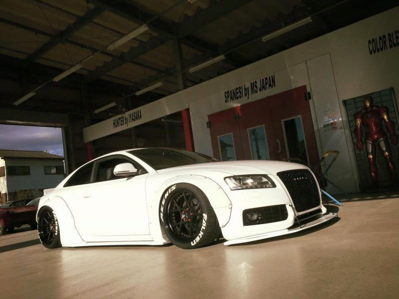 Audi A5 Coupe Liberty Walk Performance Bodykit 2 Feeeeeeeeett   Audi A5 Coupe by Liberty Walk Performance