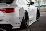 Audi A5 Coupe Liberty Walk Performance Bodykit 2016 Tuning Wei%C3%9F 14 190x127 Feeeeeeeeett   Audi A5 Coupe by Liberty Walk Performance