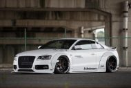 Audi A5 Coupe Liberty Walk Performance Bodykit 2016 Tuning Wei%C3%9F 18 190x127 Feeeeeeeeett   Audi A5 Coupe by Liberty Walk Performance