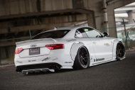 Audi A5 Coupe Liberty Walk Performance Bodykit 2016 Tuning Wei%C3%9F 5 190x127 Feeeeeeeeett   Audi A5 Coupe by Liberty Walk Performance