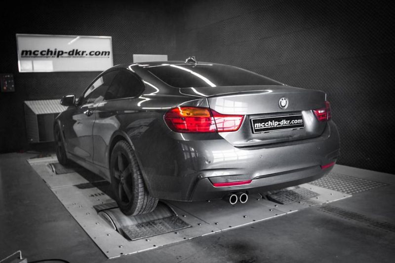 BMW 430d F32 302PS Mcchip DKR SoftwarePerformance2 BMW 430d F32 mit 302PS by Mcchip DKR SoftwarePerformance
