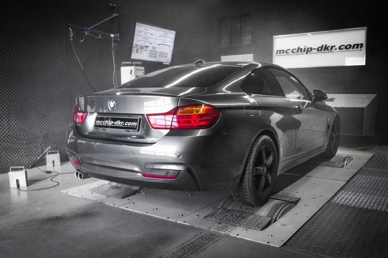 BMW 430d F32 302PS Mcchip DKR SoftwarePerformance4 BMW 430d F32 mit 302PS by Mcchip DKR SoftwarePerformance