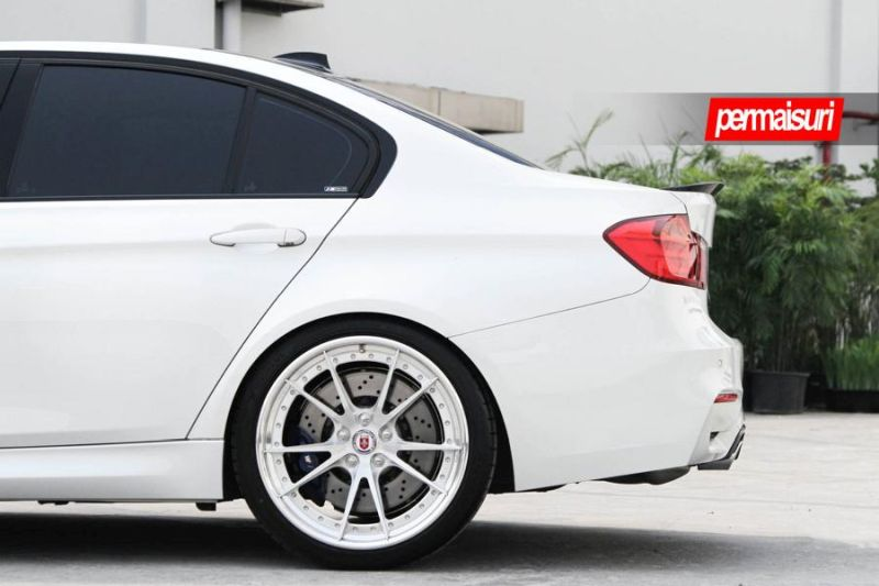 BMW M3 with HRE S104 in Brushed Clear by Permaisuri 4 BMW M3 F80 auf HRE S104 Alu's by Permaisuri
