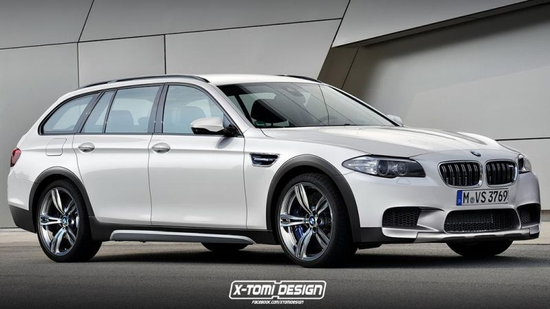 BMW M5 xDrive Touring2 1 Rendering: BMW M5 F10 xDrive Touring mit 560PS