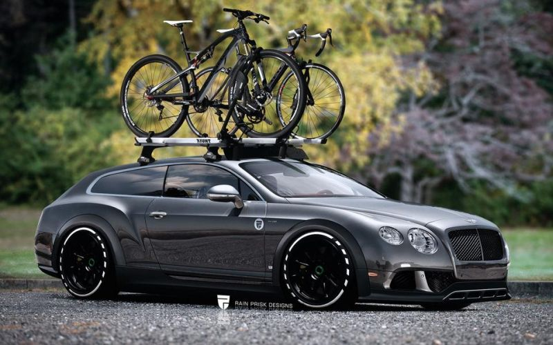 Bentley Continental GT Wagon 1 Rendering: Einfach geil   Bentley Continental GT Wagon