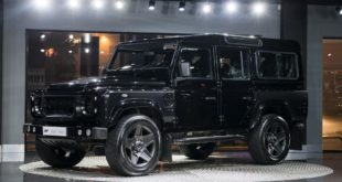 CHELSEA TRUCK COMPANY LAND ROVER DEFENDER 2.2 TDCI 110 STATION WAGON 7 SEATER THE END EDITION 3 310x165 The End Edition   Kahn Design's letzter Defender ist der beste!