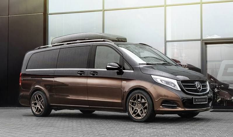 Hammerhart mercedes benz v klasse by carlex design for Innenraum design berlin