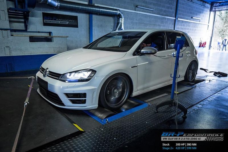 Chiptuning VW Golf VII R 2.0 TSi BR Performance Stage 2 1