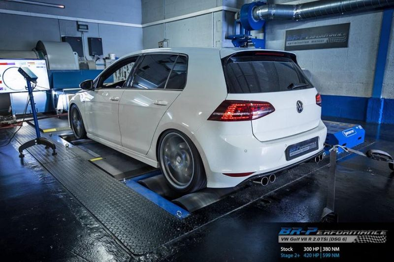 Chiptuning VW Golf VII R 2.0 TSi BR Performance Stage 2 2