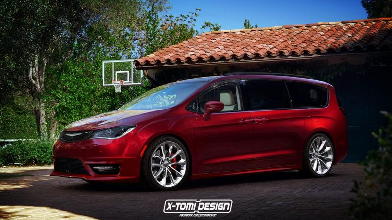 Chrysler Pacifica SRT2 Rendering: X Tomi Design Chrysler Pacifica SRT