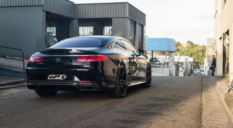 City Performance Centre Mercedes S63 AMG Coupe HRE P107 7