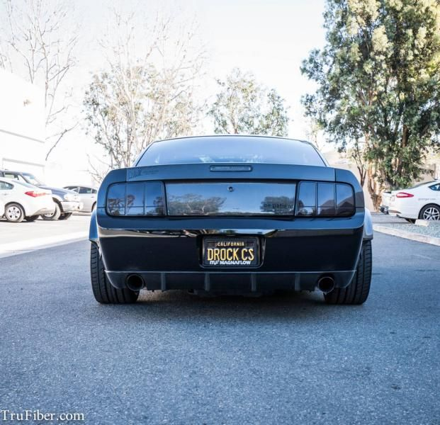 Ford Mustang Widebody mbDesign Tuning TruFiber 11 Ford Mustang Widebody auf mbDesign Alu's by TruFiber