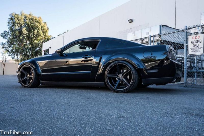 Ford Mustang Widebody mbDesign Tuning TruFiber 4 Ford Mustang Widebody auf mbDesign Alu's by TruFiber
