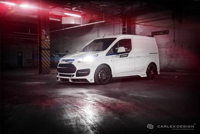 endlich real ford transit connect tuning by carlex design. Black Bedroom Furniture Sets. Home Design Ideas