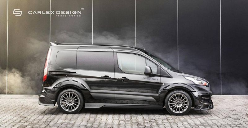 Ford Transit M Sport Connect Carlex Design 2 Endlich real   Ford Transit Connect Tuning by Carlex Design