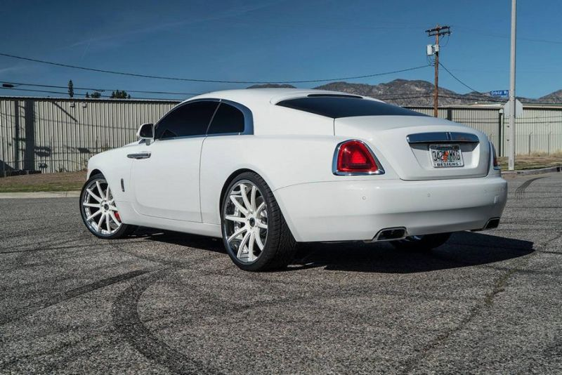 Forgiato Wheels Felgen Tunnig Rolls Royce Wraith 7 Weiße Forgiato Wheels Alu's am Rolls Royce Wraith