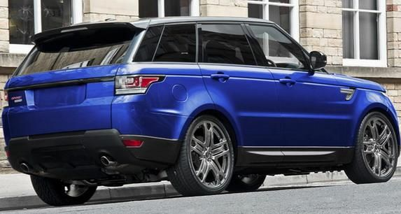 Kahn Edition 3 Range Rover Sport 3.0 SDV6 HSE in Estoril Blau by Kahn Design