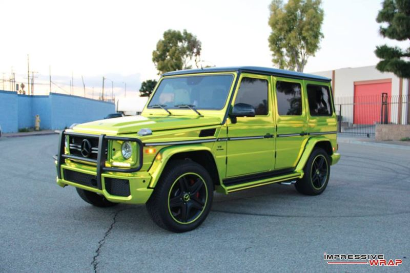Lime-Green-Mercedes-G-Class-tuning-car-1