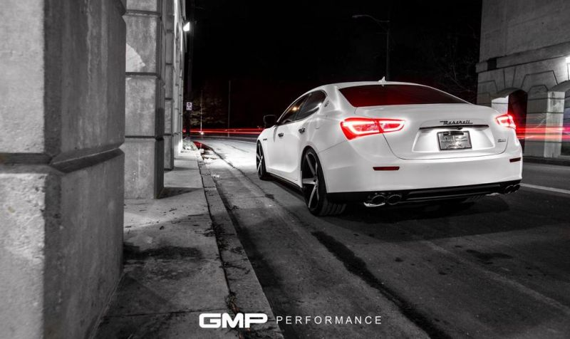 Maserati Ghibli XO Luxury Wheels GMP Performance 2 Sehr elegant   2016 Maserati Ghibli auf XO Luxury Wheels by GMP