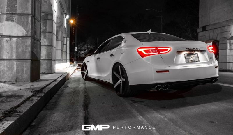 Maserati Ghibli XO Luxury Wheels GMP Performance 5 Sehr elegant   2016 Maserati Ghibli auf XO Luxury Wheels by GMP