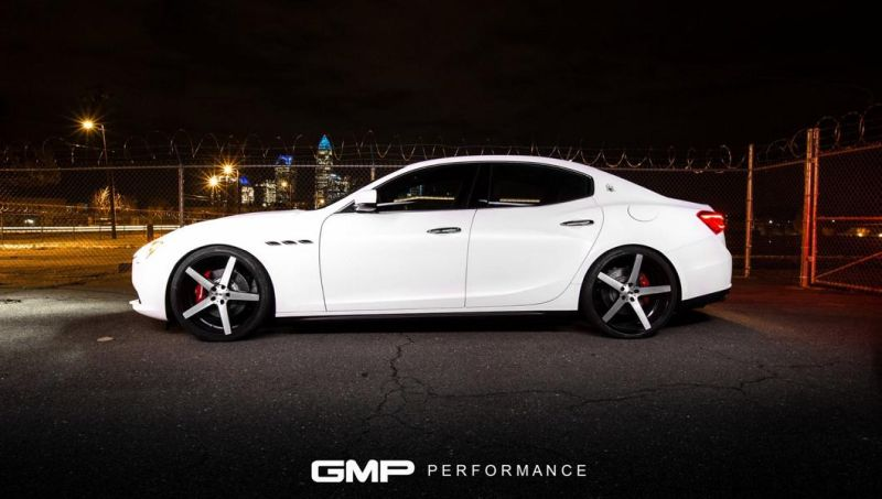 Maserati Ghibli XO Luxury Wheels GMP Performance 6 Sehr elegant   2016 Maserati Ghibli auf XO Luxury Wheels by GMP