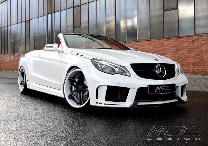 Mercedes Benz E 500 Cerberus CCd5 W207 MEC Design 12 Mercedes Benz E 500 Cerberus W207 in Weiß by MEC Design