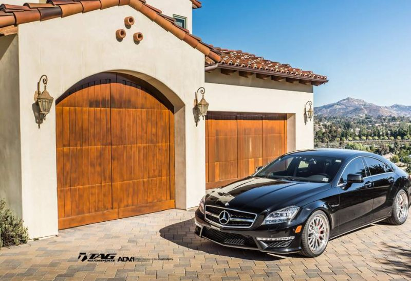 Mercedes CLS63 AMG 20 Zoll ADV10.0 ADV.1 Wheels2 Mercedes CLS63 AMG auf 20 Zoll ADV10.0 Track Function