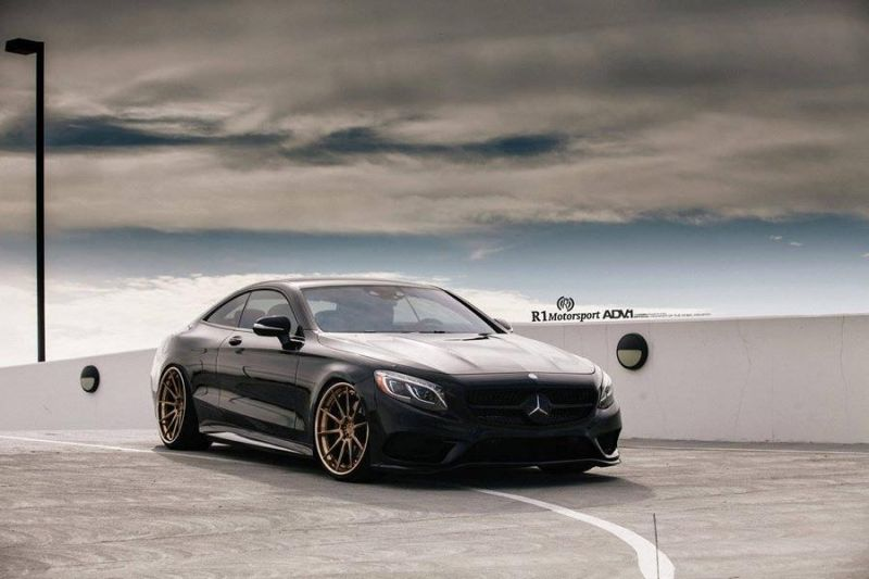 Mercedes S Coupe 22 Zoll ADV.1 Wheels r1 motorsport 1 Schick & dezent   Mercedes S Coupe auf 22 Zoll ADV.1 Wheels